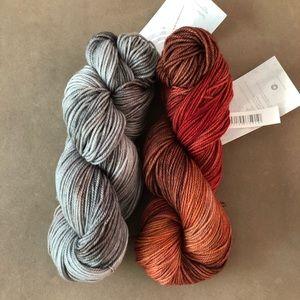 Merino Wool Hand dyed yarn